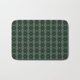 Meshed in Green Bath Mat