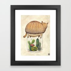 Help  Framed Art Print