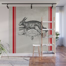 The Hare Wall Mural