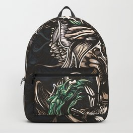 Moth and tiger Backpack
