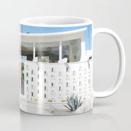 Mid Century Orange Coffee Mug
