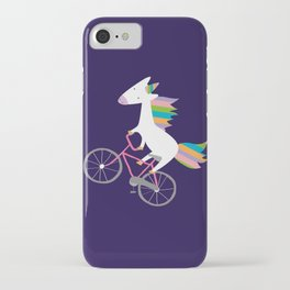bike unicorn  iPhone Case
