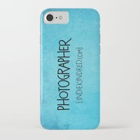 photographer iPhone & iPod Cases featuring Photographer by Indie Kindred