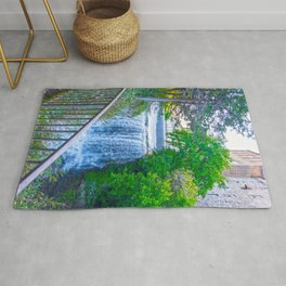 The Waterfall and the Mill Rug