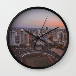 Landscape Photography by Gabriel Rodrigues Wall Clock