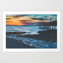 Point Arena Sunset Art Print