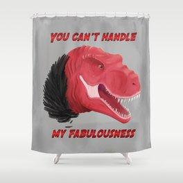 Dinosaurs | Fabulous Trex is fabulous  Shower Curtain