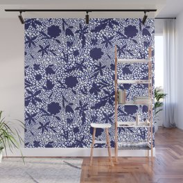 MOSAIC JELLY BEANS AND FLOWERS Wall Mural