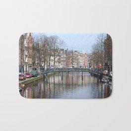 Canals of Amsterdam Bath Mat