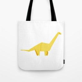 Origami Diplodocus Tote Bag