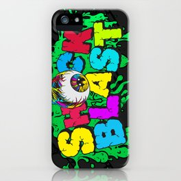 Original ShockBlast x Tumblr Classic Grime Logo iPhone Case