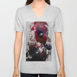 The Merc With A Mouth - Chimichanga Or Knuckle Sandwich? Unisex V-Neck