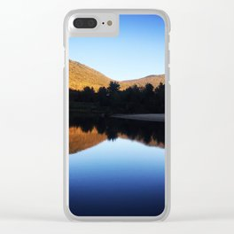 New Hampshire Reflection Clear iPhone Case