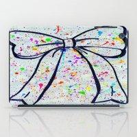 bow iPad Cases featuring Bow by T. Tamaiiya