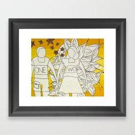 OneTwo Framed Art Print