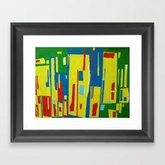 NEAR THE FOREST Framed Art Print