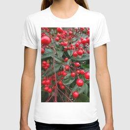Winter Berries 8x12 T-shirt