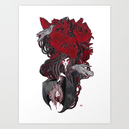 Seven Deadly Sins 'Wrath' Art Print