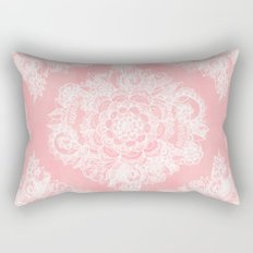 Marshmallow Lace Rectangular Pillow