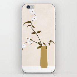 Flowers in the Vase iPhone Skin