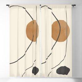 Minimalist Abstract 37 Blackout Curtain