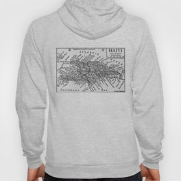 Vintage Map of Haiti (1911) Hoody