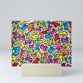 KEITH HARRING--Pattern Mini Art Print