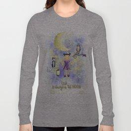 On the moon. Long Sleeve T-shirt