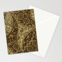 Ethnic Tribal Pattern Art N5 Stationery Cards