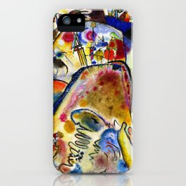 Wassily Kandinsky - Small Pleasures iPhone Case