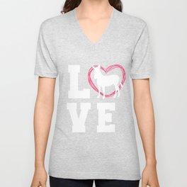 Zebra T-Shirt For Women Unisex V-Neck