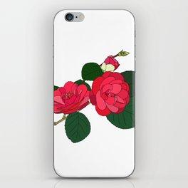 Camellia iPhone Skin