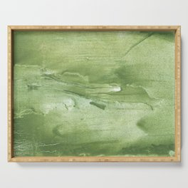 Swamp green Serving Tray
