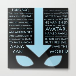 The Last Airbender Metal Print