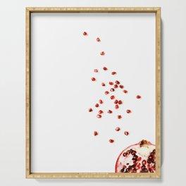Minimalist, Pomegranate Serving Tray