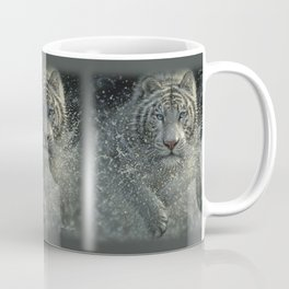 White Tiger - Wet and Wild Coffee Mug