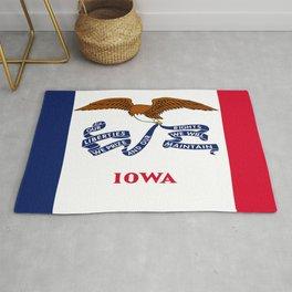 flag of Iowa, america, usa, midwest,Council Bluffs, Iowan,Des Moines,Cedar Rapids,Davenport,sioux Rug