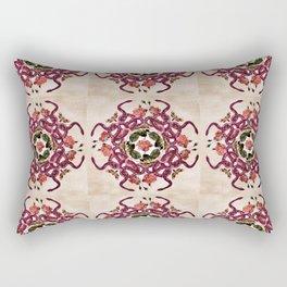 Deadly Roses Quilt Pattern Rectangular Pillow