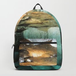 Watercolor Rock, Lechuguilla Cave 19, New Mexico, Pearlsian Reflections Backpack