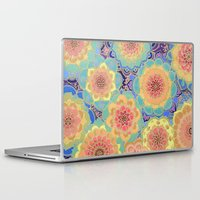 yellow Laptop & iPad Skins featuring Obsession by micklyn