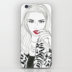 Kendall Jenner iPhone & iPod Skin