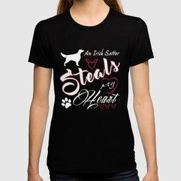 Irish Setter Dad Funny Gift Shirt T-shirt