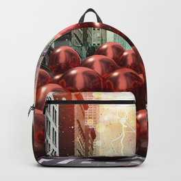 Giant Red Ball Pit NYC Backpack