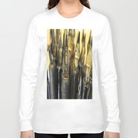 write Long Sleeve T-shirts featuring Write right by Lisa Beynon