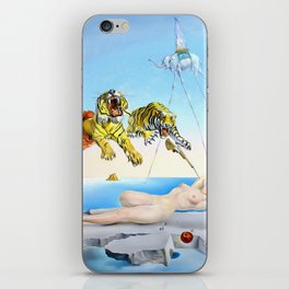 Salvador Dalí, Dream Caused by the Flight of a Bee Around a Pomegranate a Second Before Awakening 1944 iPhone Skin