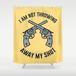 My Shot Shower Curtain