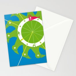 The Nums Wheel Stationery Cards