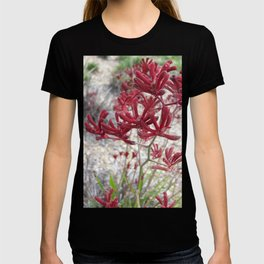 Red Kangaroo Paw T-shirt