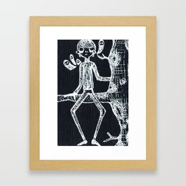 Ghostlies Will Find You Framed Art Print