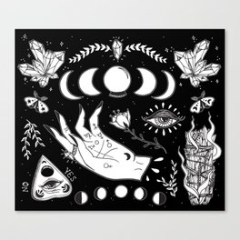 Witchcraft Art Canvas Print